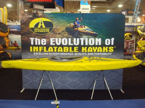 Advanced Elmeents booth at the Outdoor Retailer show.