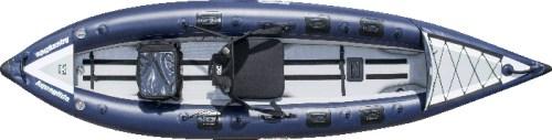 BlackFoot HB inflatable fishing kayak.