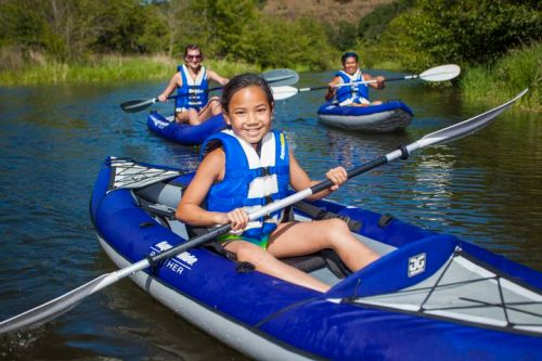 New AquaGlide Panther Inflatable Kayak for Kids