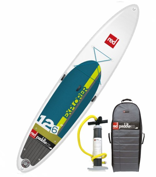 2015 Red Paddle Co Explorer 12-6 Inflatable SUP