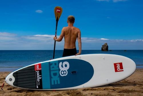 Ride 9-8 Inflatable Paddle Board from Red Paddle Co