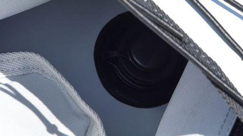 Recessed drain plug