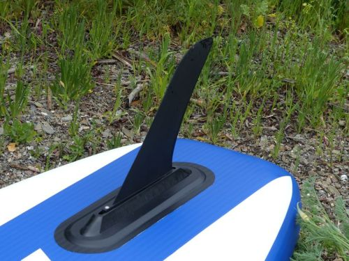 Deep water tracking fin