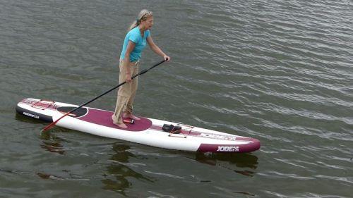 Jobe Aero SUP 11-6 on the water