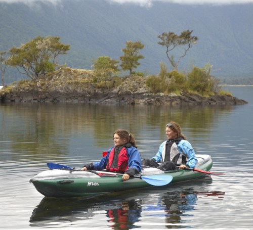Helios 2 paddled double