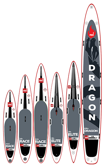 2017 Red Paddle Co Racing Inflatable SUPS