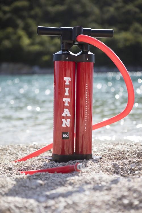 Red Paddle Co Titan Dual Barrel Pump