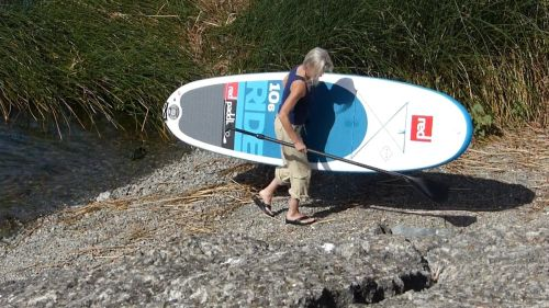 Red Paddle Co Ride 10'6 Inflatable SUP with MSL Technology