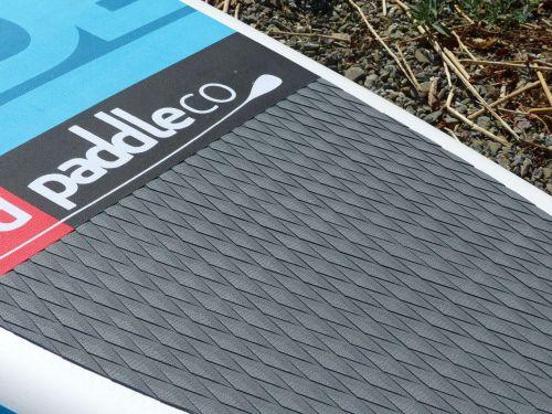 Diamond groove deck pad