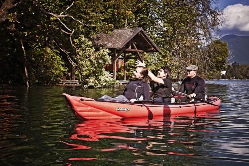 New Innova Seawave inflatable kayak for 1-2+ paddlers.