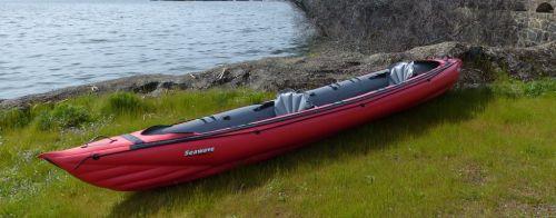 Innova Seawave touring kayak set us as a tandem.