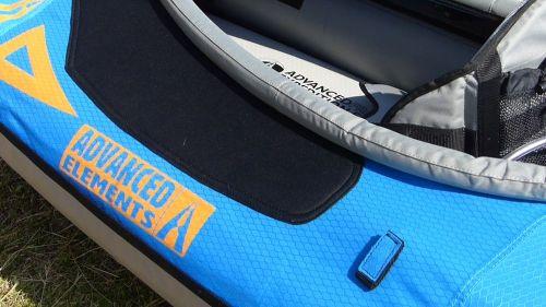 Velcro knuckleguard and paddle holder