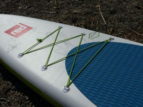 Bungee deck lacing