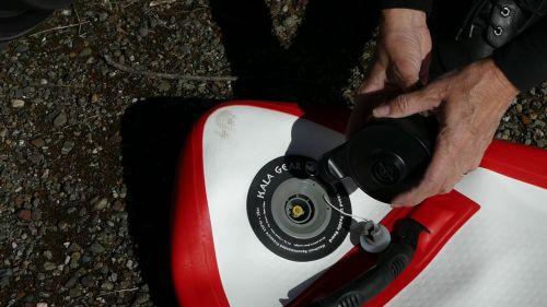Using the 12-volt pump