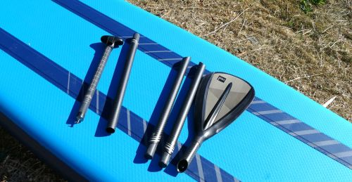 Red Paddle 5pc breakdown carbon SUP paddle