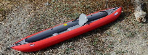 Innova Thaya set up for solo paddling