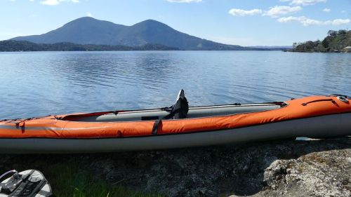 Convertible Elite set up for solo paddling.