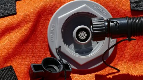 Miltary valve screw on attachment