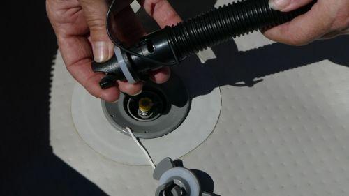 The dropstitch floor adaptor