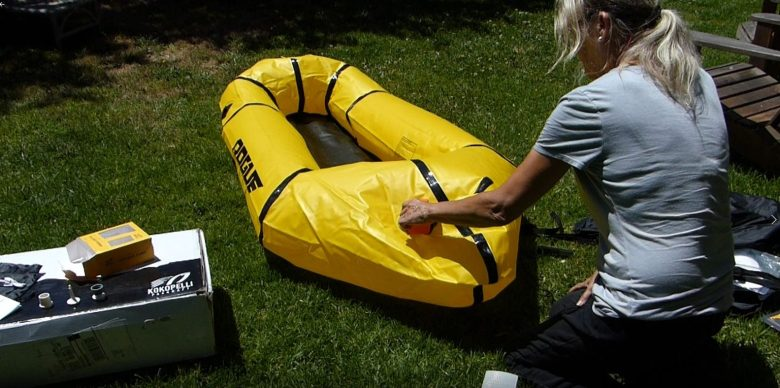 Inflating a Kokopelli Rogue Lite with a Feather Pump