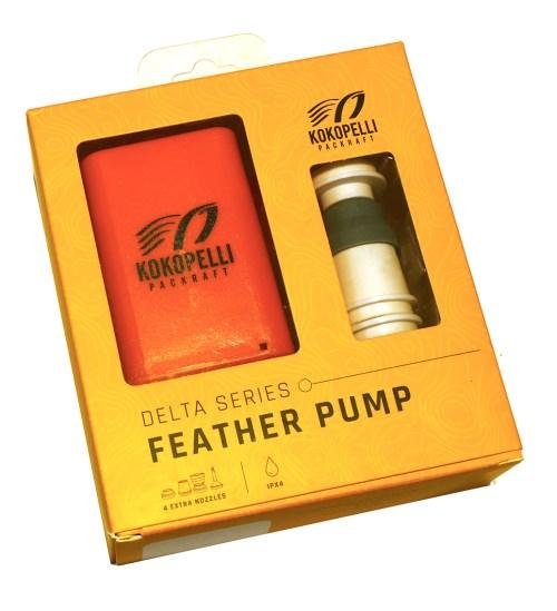 Kokopelli Feather Pump