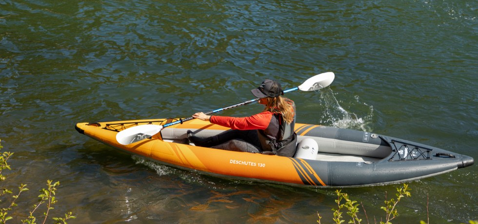 Aquaglide Deschutes 130 inflatable kayak