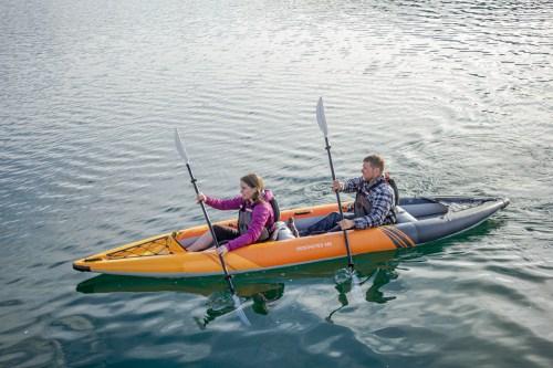 Aquaglide Deschutes 145 inflatable tandem kayak