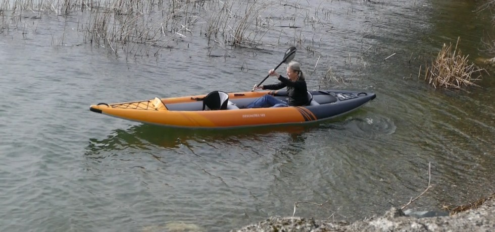 Deschutes 145 paddled solo