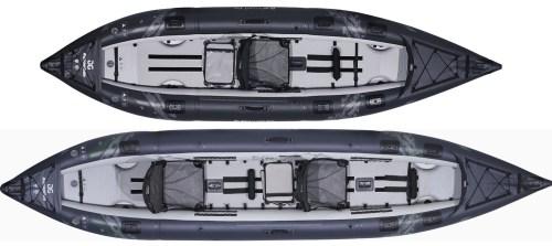 Aquaglide 2021 Blackfoot Angler Inflatable Kayaks