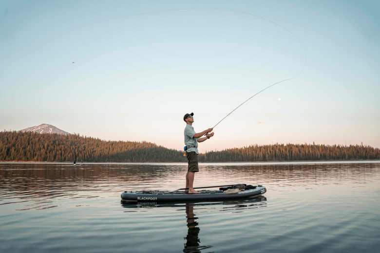Blackfoot Angler 11 SUP fishing