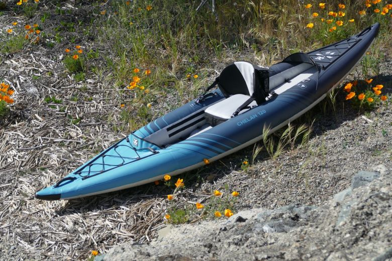 Aquaglide Chelan 120 inflatable kayaks