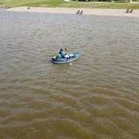 Aquaglide Backwoods Angler 75 Lightweight Inflatable Kayak
