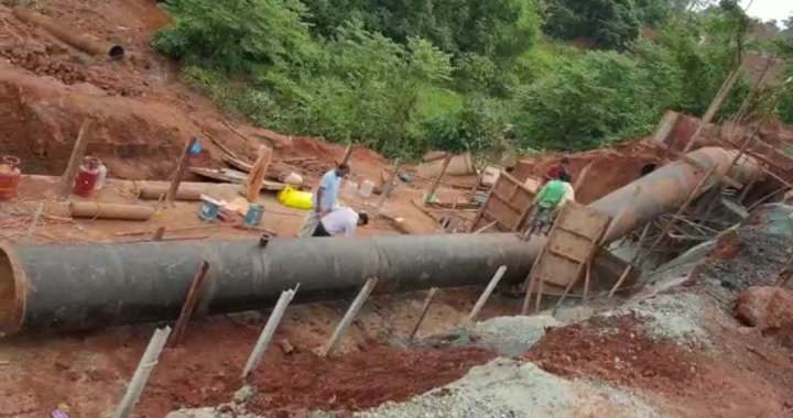 NOT AWARE, WHO WILL BEAR COST OF KHANDEPAR WATER PIPELINES. TAP WATER FOR TISWADI ONLY ON 21st AUG: GOA PWD MINISTRY