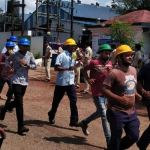 CHEMICAL DISASTER MOCK DRILL HELD AT PISSURLEM