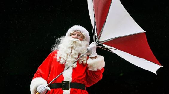 GOA IS EXPECTED TO RECEIVE RAIN SHOWERS ON CHRISTMAS EVE