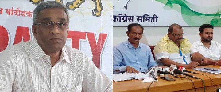 CONGRESS, MGP SLAMS GOA CM SAWANT OVER 1 YEAR COMPLETION IN HIS OFFICE