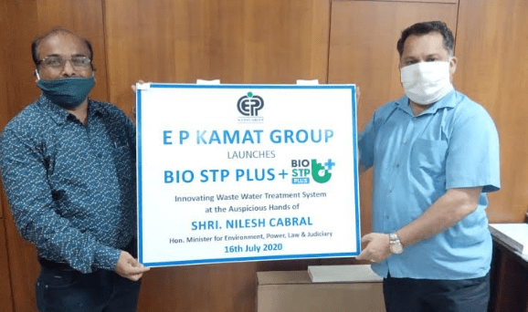 E.P. KAMAT GROUP LAUNCHES BIO STP SYSTEMS IN GOA