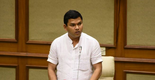 GOA IIT ROW:  AFTER BJP SLAMS PRASAD GAONKAR,  SANGUEM MLA WITHDRAWS SUPPORT FOR DR. SAWANT GOVERNMENT
