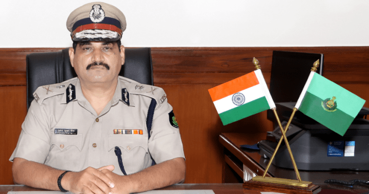 GOA DGP HONOURS POLICE PERSONALS WITH INSIGNIA FOR EXCELLENCE