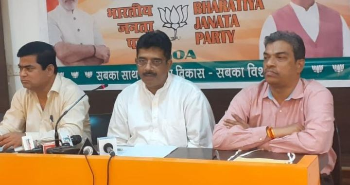 BJP READY TO CONTEST MUNICIPAL ELECTIONS ON PARTY LINES: SADANAND TANAVADE, GOA BJP PRESIDENT
