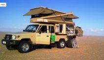 Kitted out (courtesy of www.safaricampers.co.za)
