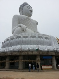 "The ""Big Buddha"" on Phuket Island."