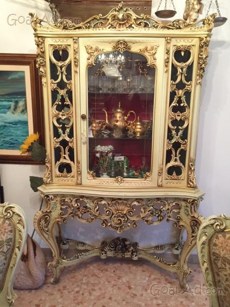 Vetrina stile veneziano vetrinetta stile veneziano  Cerca compra vendi nuovo e usato Vetrina
