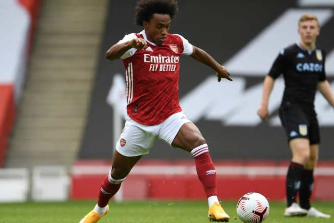 Pictures Willian Arsenal Debut