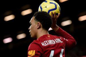 Alexander-Arnold Play In Midfield Liverpool