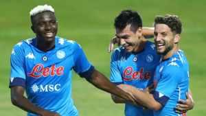 Napoli Vs Atalanta Confirmed Lineup Osimhen