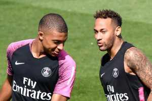 PSG Keep Mbappe Sending Neymar Out