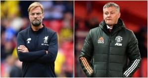 Liverpool Vs Man Utd Confirmed Lineup
