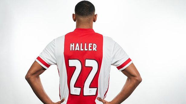 Sebastien Haller Ajax Jersey No