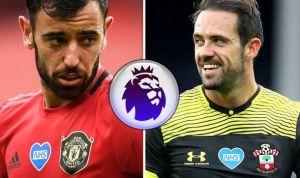 Man Utd Vs Southampton Confirmed Lineup